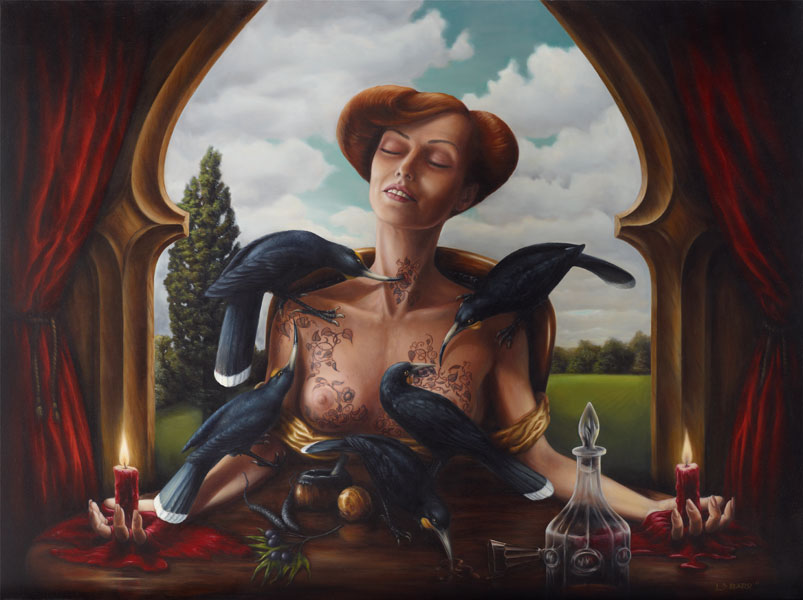 Liam Barr, historical surrealism, prints for sale, NZ history, online gallery, maori pictures, portraits, contemporary New Zealand artist, albatross, figurative, accordian, fine-art works, pop surrealism, art, Neo-Surrealism, bird art,>